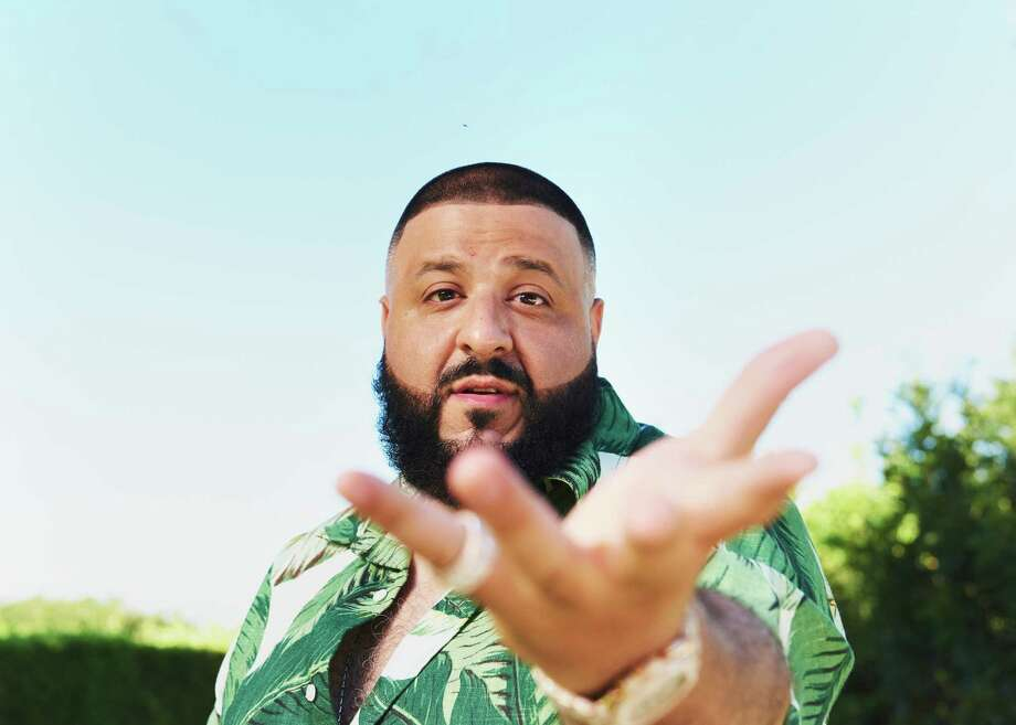 DJ Khaled in his garden at home in Beverly Hills, Calif., June 21, 2017. Khaled,  hip-hop producer with a new album, aptly named ÒGrateful,Ó says he uses his garden to stay grounded. ÒSay I had to get on a conference call, IÕd go outside by the hammock, by the flowers, and just sit there, and if itÕs a stressful call, I really get close to the flowers,Ó he said. ÒPeople say, ÔRespect your mother.Õ I say, ÔRespect Mother Nature.Õ Ó (Jake Michaels/The New York Times) Photo: JAKE MICHAELS, NYT / NYTNS