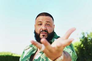 DJ Khaled in his garden at home in Beverly Hills, Calif., June 21, 2017. Khaled,  hip-hop producer with a new album, aptly named ÒGrateful,Ó says he uses his garden to stay grounded. ÒSay I had to get on a conference call, IÕd go outside by the hammock, by the flowers, and just sit there, and if itÕs a stressful call, I really get close to the flowers,Ó he said. ÒPeople say, ÔRespect your mother.Õ I say, ÔRespect Mother Nature.Õ Ó (Jake Michaels/The New York Times)