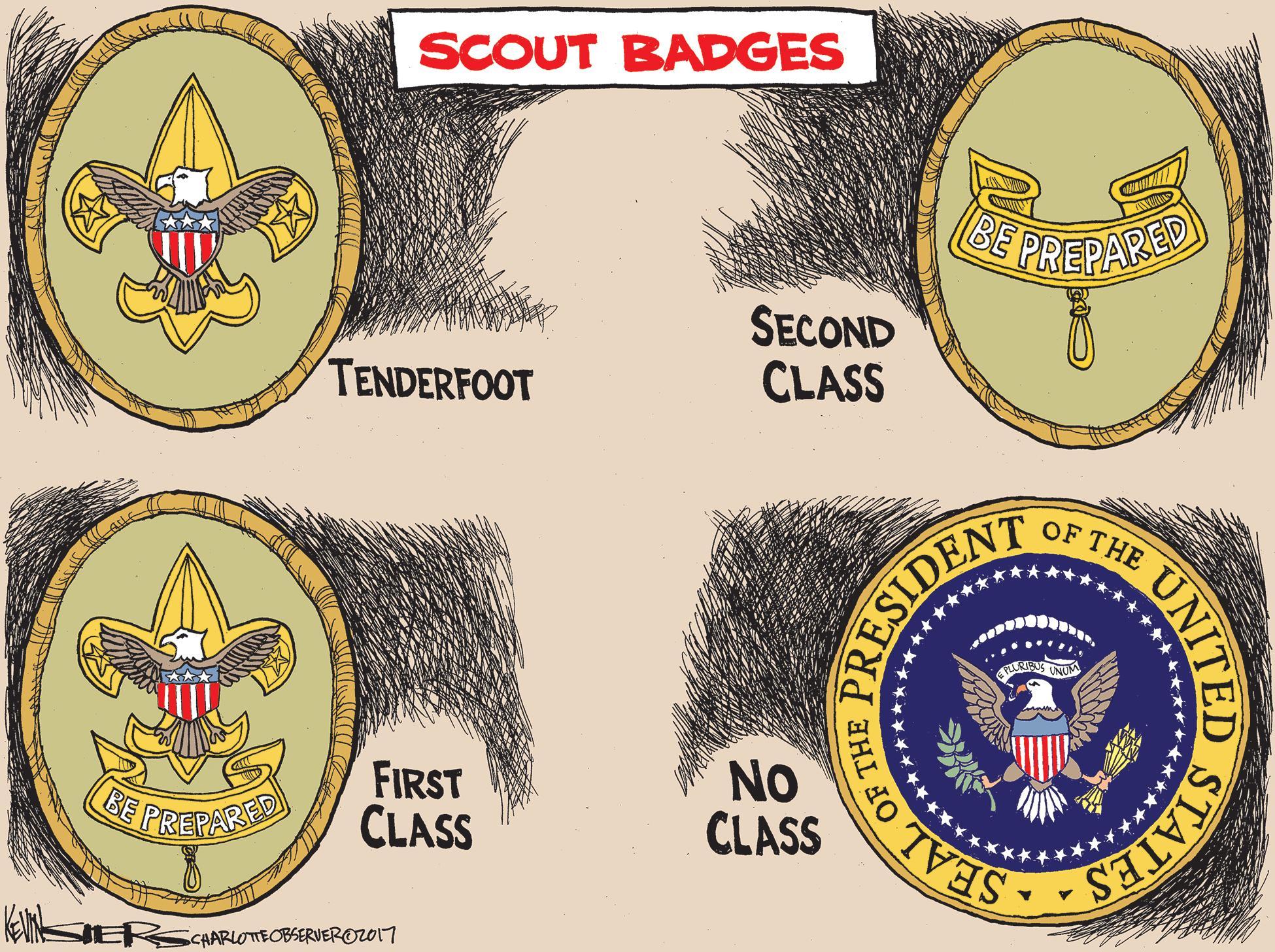 Stephan Lesher The Donald J Trump American Values Merit Badge – American Heritage Merit Badge Worksheet