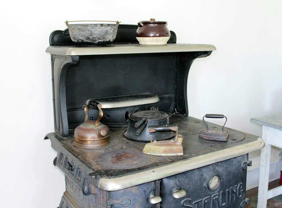 An old stove in the Sheffield Island Lighthouse  on July 21, 2017 in Norwalk, Conn. Photo: Erin Kayata / Hearst Connecticut Media / Darien News