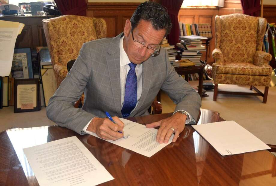 Gov. Dannel P. Malloy today announced that he has signed an executive order reinforcing the state's nondiscrimination policies within the Connecticut Military Department following an announcement from President Trump this morning that he intends to ban people who are transgender from serving in the military in any capacity. Photo: Contributed Photo / Contributed Photo / Connecticut Post Contributed