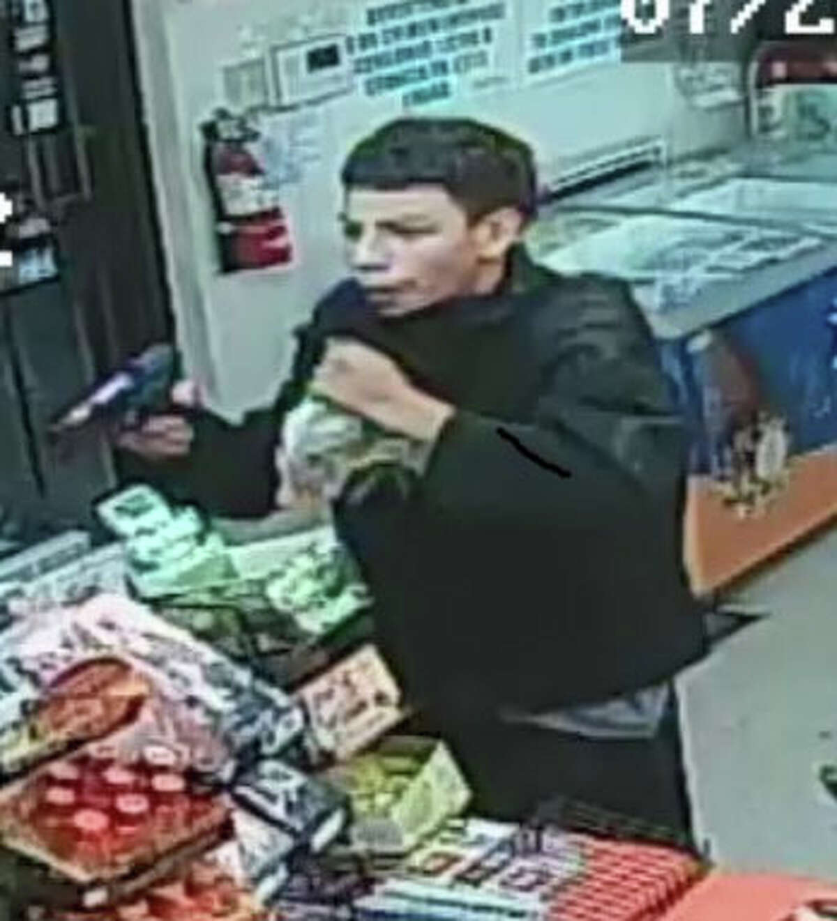 Hurst Police Department finally catch glimpse of suspect after nearly 12 armed robberies.