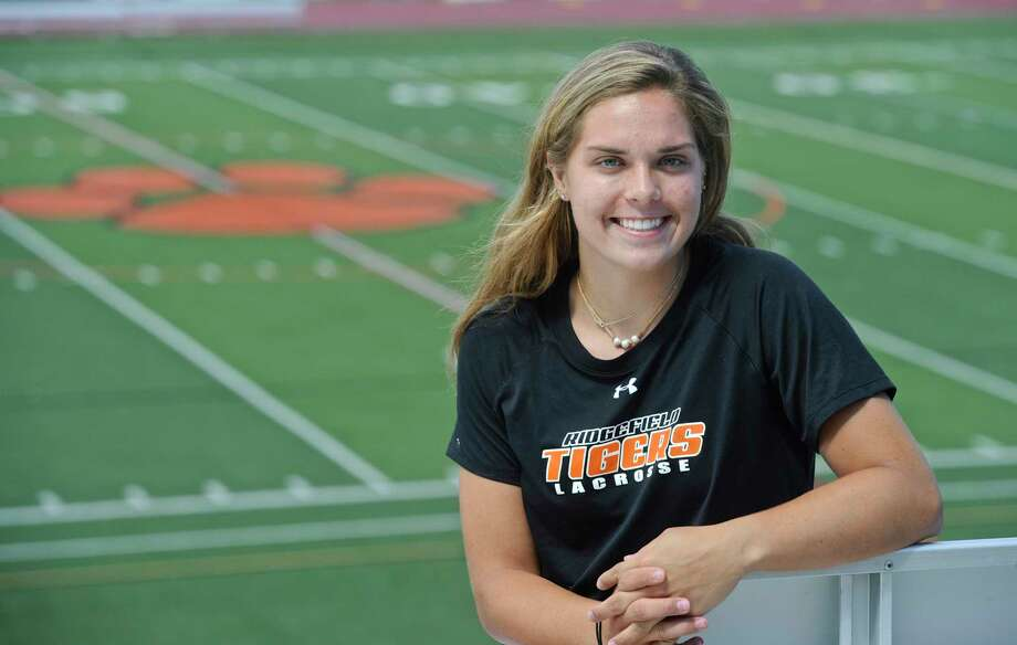 Caroline Curnal, of Ridgefield, is the Hearst Female Athlete of the Year. Curnal played, volleyball, basketball and lacrosse at Ridgefield High School. Wednesday, July 26, 2017, in Ridgefield, Conn. Photo: H John Voorhees III, Hearst Connecticut Media / The News-Times