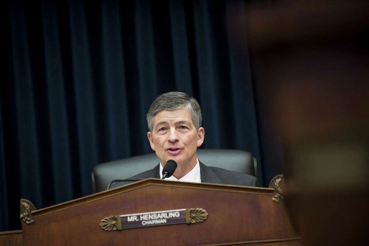 House Financial Commitee Chairman Jeb Hensarling, R-Dallas, is seeking to rout a Consumer Finance Protection Bureau rule that allows consumers to bring or join class-action suits against financial services companies.
