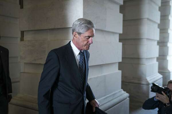 Former FBI Director Robert Mueller, who is leading the Russia investigation, leaves the Capitol. A reader predicts President Trump will fire Mueller.