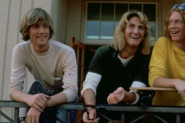 """Anthony Edwards (left), Sean Penn and Eric Stoltz in Amy Heckerling's enduring debut, """"Fast Times at Ridgemont High."""""""
