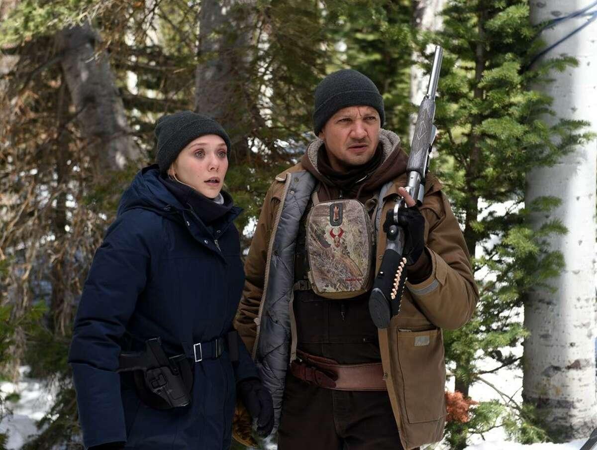 Elizabeth Olsen and Jeremy Renner star in Wind River