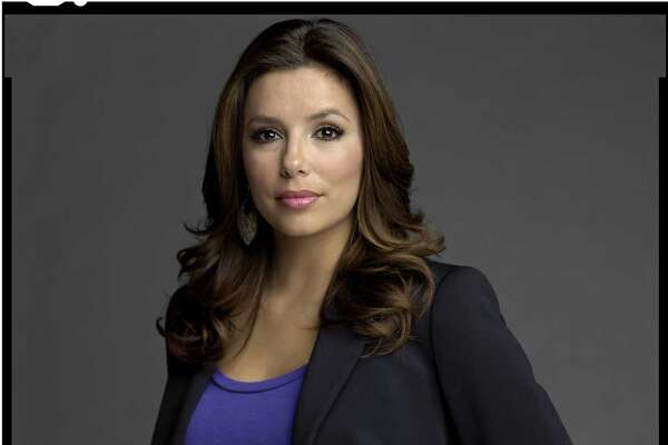 "A portrait of actress Eva Longoria is one of the images in photographer Timothy Greenfield-Sanders' ""Latino List"" series."