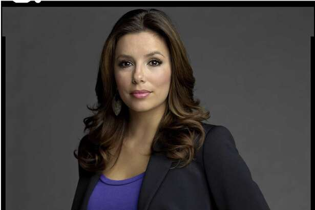 """A portrait of actress Eva Longoria is one of the images in photographer Timothy Greenfield-Sanders' """"Latino List"""" series."""
