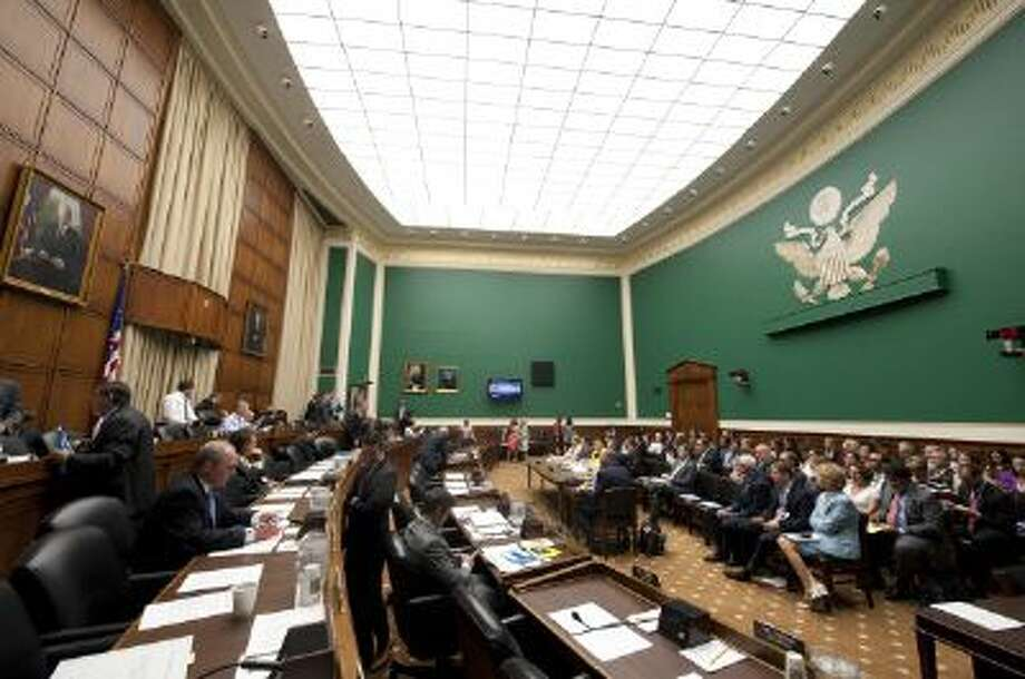This is the room in the House of Representatives where a congressional hearing on heathcare.gov will take place Thursday. Photo: Roll Call/Getty Images / © 2013 CQ Roll Call