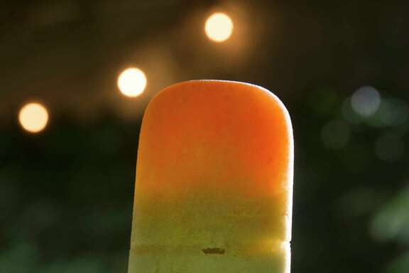 Carrot and Green Fruit Juice Pops. (Steve Mellon/Pittsburgh Post-Gazette/TNS)