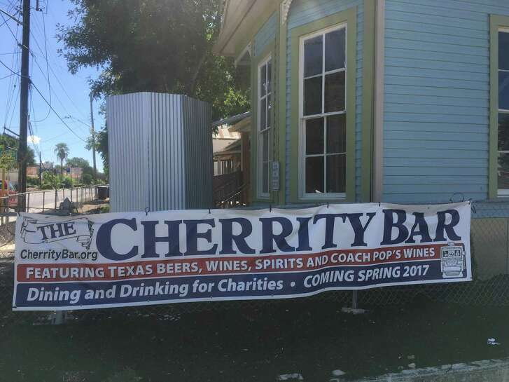 The planned Cherrity Bar at 302 Montana St. sits next door to the Alamodome and is a project spearheaded by David Malley. The aim of the bar, which Malley hopes will open in October, is to provide philanthropic support to area nonprofits.