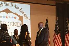 Conroe native Earl Thompson received the Presidential Lifetime Achievement Award on July 9 in Dallas.