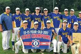 The Newtown U15 Babe Ruth team won the state championship with 5-0 and 4-1 wins over Stamford on Saturday
