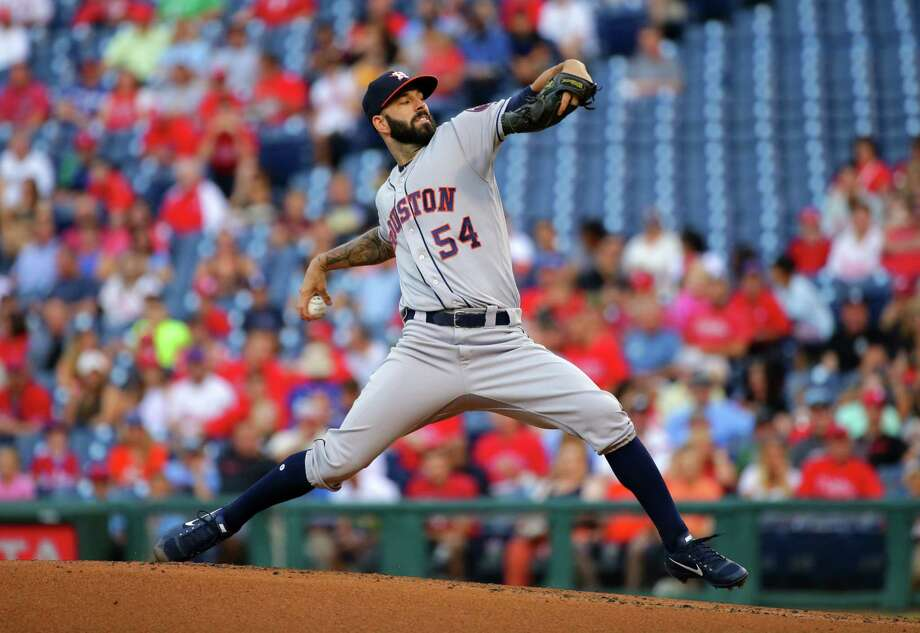 Ex-Astros pitcher Mike Fiers accuses team of sign stealing in 2017 This latest Houston sports scandal came to light Tuesday, when Fiers told The Athletic that the Astros electronically stole signs at Minute Maid Park during their World Series-winning season in 2017. The Astros have since begun an investigation in cooperation with Major League Baseball,the club said in a statement on Tuesday.  >> Keep clicking through to see some of the most notable sports scandals in Houston's history. Photo: Hunter Martin, Getty Images / 2017 Getty Images