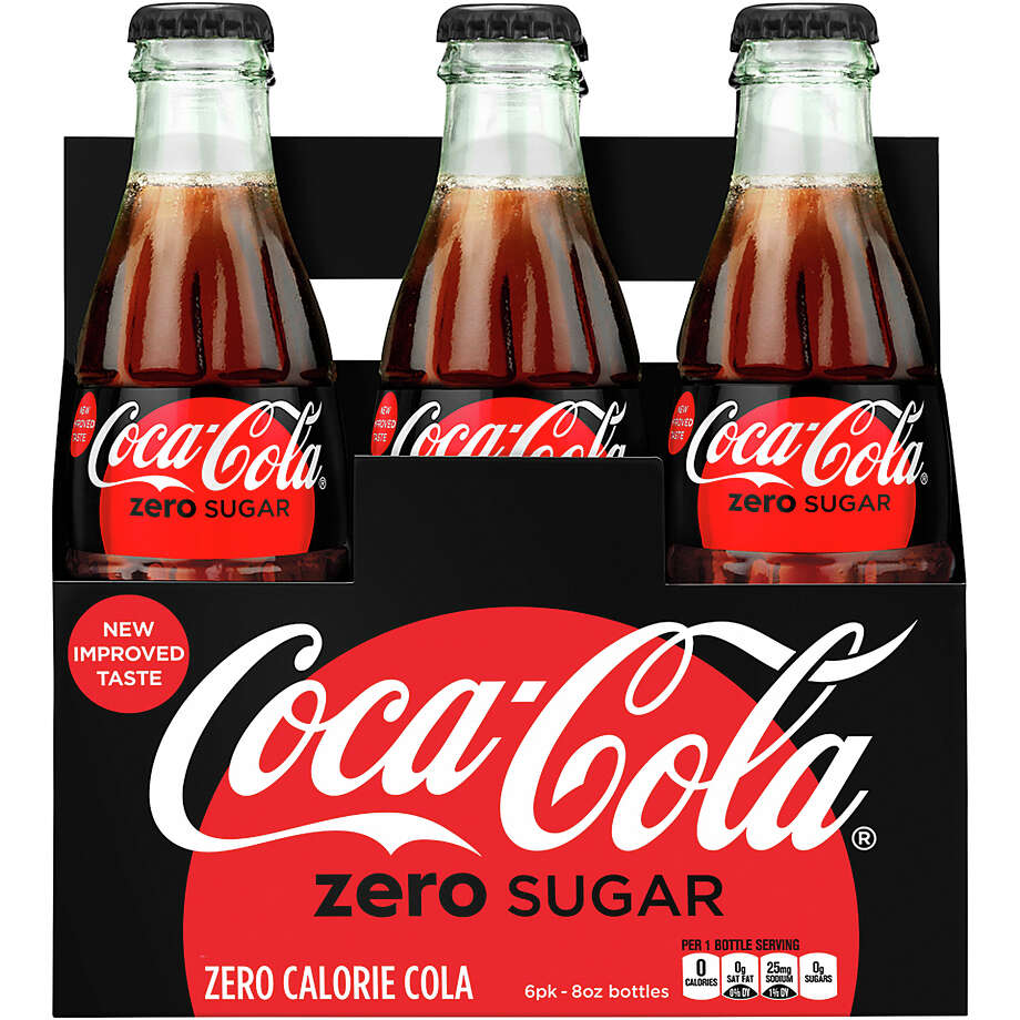 Coke Zero is getting a new name, look and taste. Coca-Cola Zero Sugar will be packaged in cans and bottles that largely resemble Coca-Cola Classic. Photo: Rodger Macuch, HONS / Coca-Cola