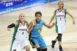 TAMIU incoming women's basketball recruit LaShae Rolle represented theBahamas on the Senior National team in the Women's CentroBasket Championship 2017 at St. Thomas, Virgin Islands this month.