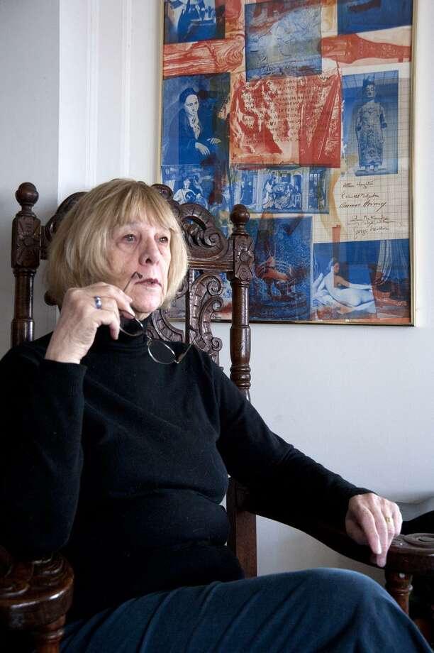 VM Williams/Register photo: Hamden's Sylvia Forges-Ryan is a renowned haiku poet.
