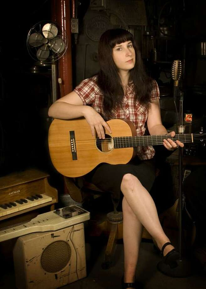 """Contributed photo: Shelton singer-songwriter Lys Guillorn will be among the musicians performing at the Tribute to """"The Anthology of American Folk Music"""" tonight at Cafe Nine in New Haven. / Ryan Blessey"""