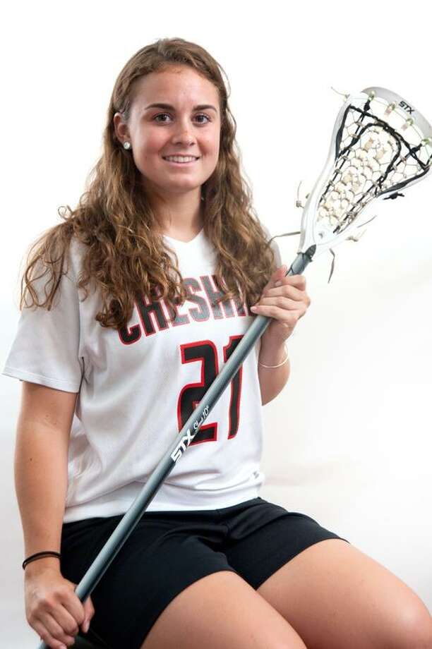 Female Athlete of the Week: Maria Blois, Cheshire lacrosse. Photo by vm Williams/Register