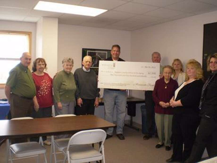Submitted Photo Pictured from left are Allen Johnson, Linda Holman, Jean Linton, Mike Gigliotti, Jim Mason, John Hill, Margaret Cary, Theresa Davis, Candy Everspaugh and Dina Lawson.