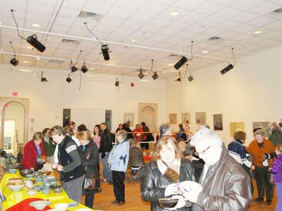 Photo by RACHEL MURPHY The 'Chili Days' at the Kirkland Art Center on Sunday, Jan. 29, 2012.