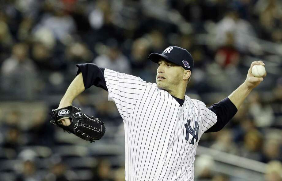 Yankees pitcher Andy Pettitte will be back in pinstripes next season. By The Associated Press Photo: ASSOCIATED PRESS / AP2012