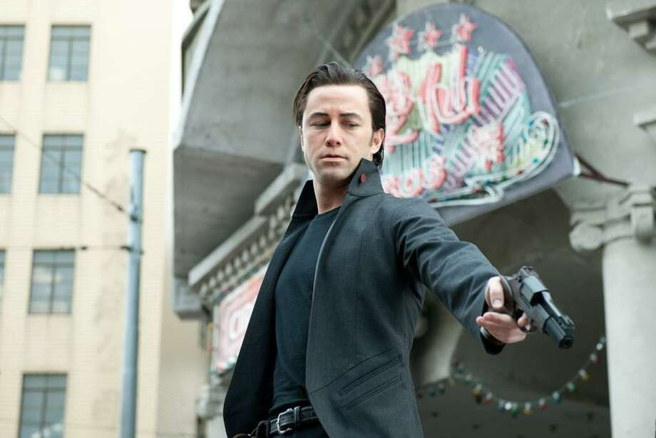 "Sony Pictures Entertainment: Joseph Gordon-Levitt has the Bruce Willis-isms down cold in action thriller ""Looper."" Photo: AP / Sony Pictures Entertainment"