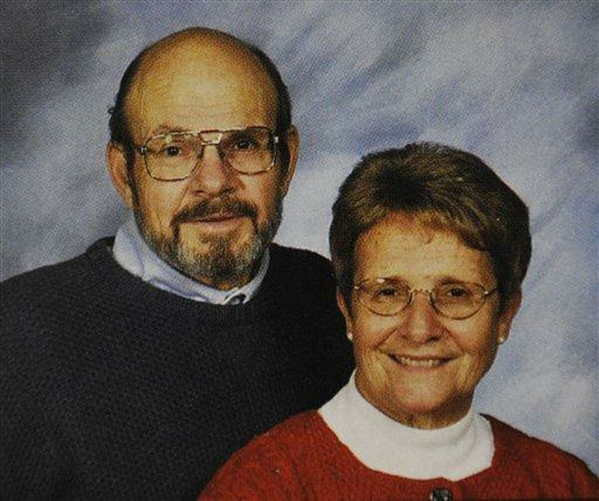 This undated photo provided Monday by the St. Piux X Catholic Church directory in White Bear Lake, Minn., shows Jerry and Barbara Heil. The Heils are among those still missing after a cruise ship capsized off the west coast of Italy Jan. 13. Associated Press
