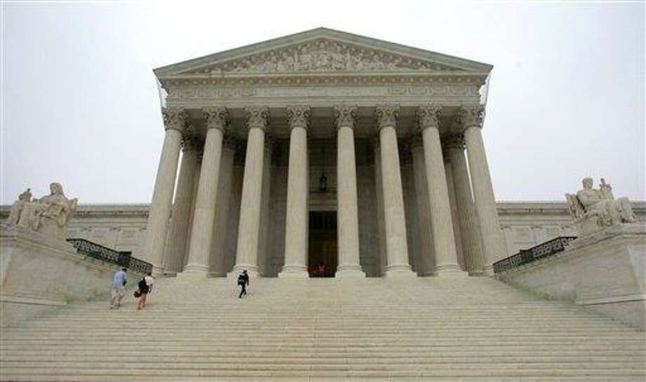 The United States Supreme Court in Washington. Associated Press file photo Photo: AP / AP