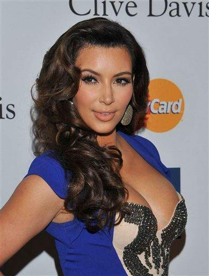 Kim Kardashian. Associated Press file photo Photo: AP / AP2012