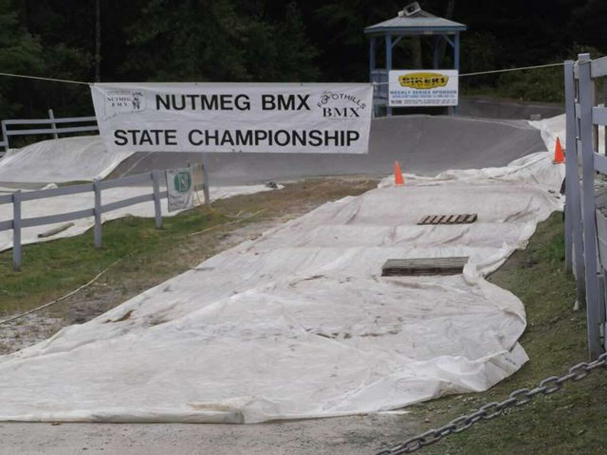 RICKY CAMPBELL/ Register Citizen The 2012 Connecticut State BMX Championships begin at noon Sunday at Alvord Park. The Foothills BMX track will feature some 200 racers from age 4 to 50
