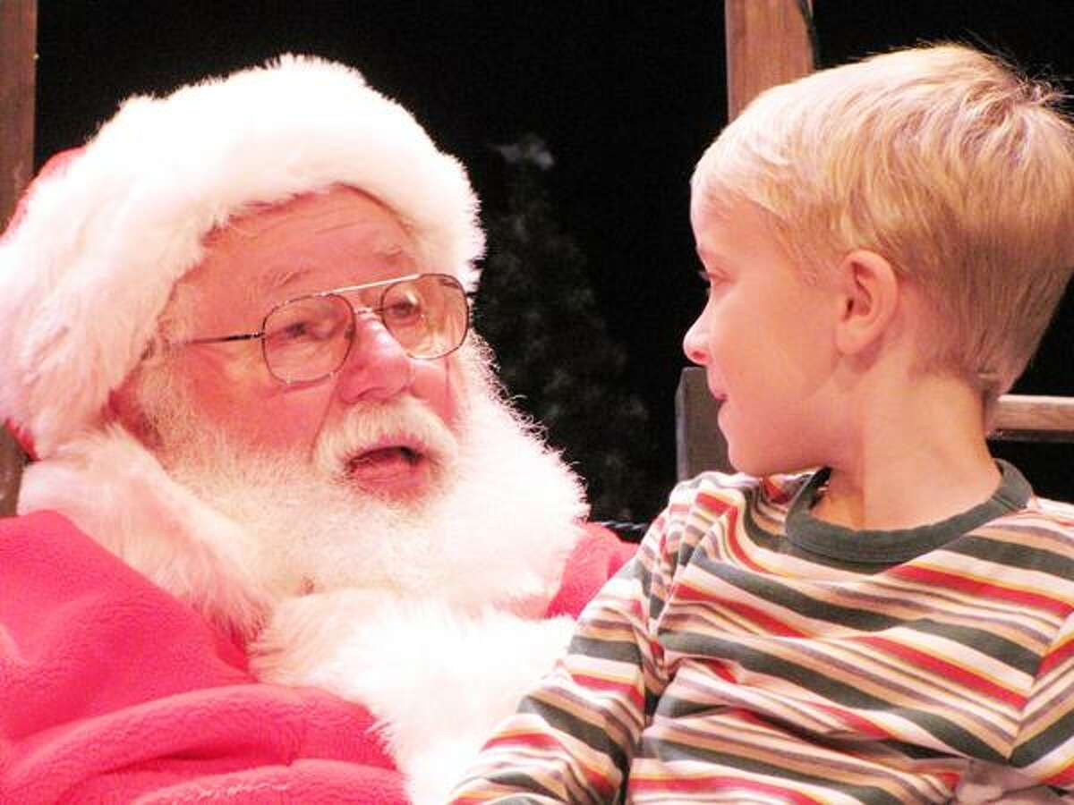 Photo Courtesy THE PALACE THEATER Santa will once again visit the Palace Theater on Saturday, Dec. 1, from 3-6 p.m.