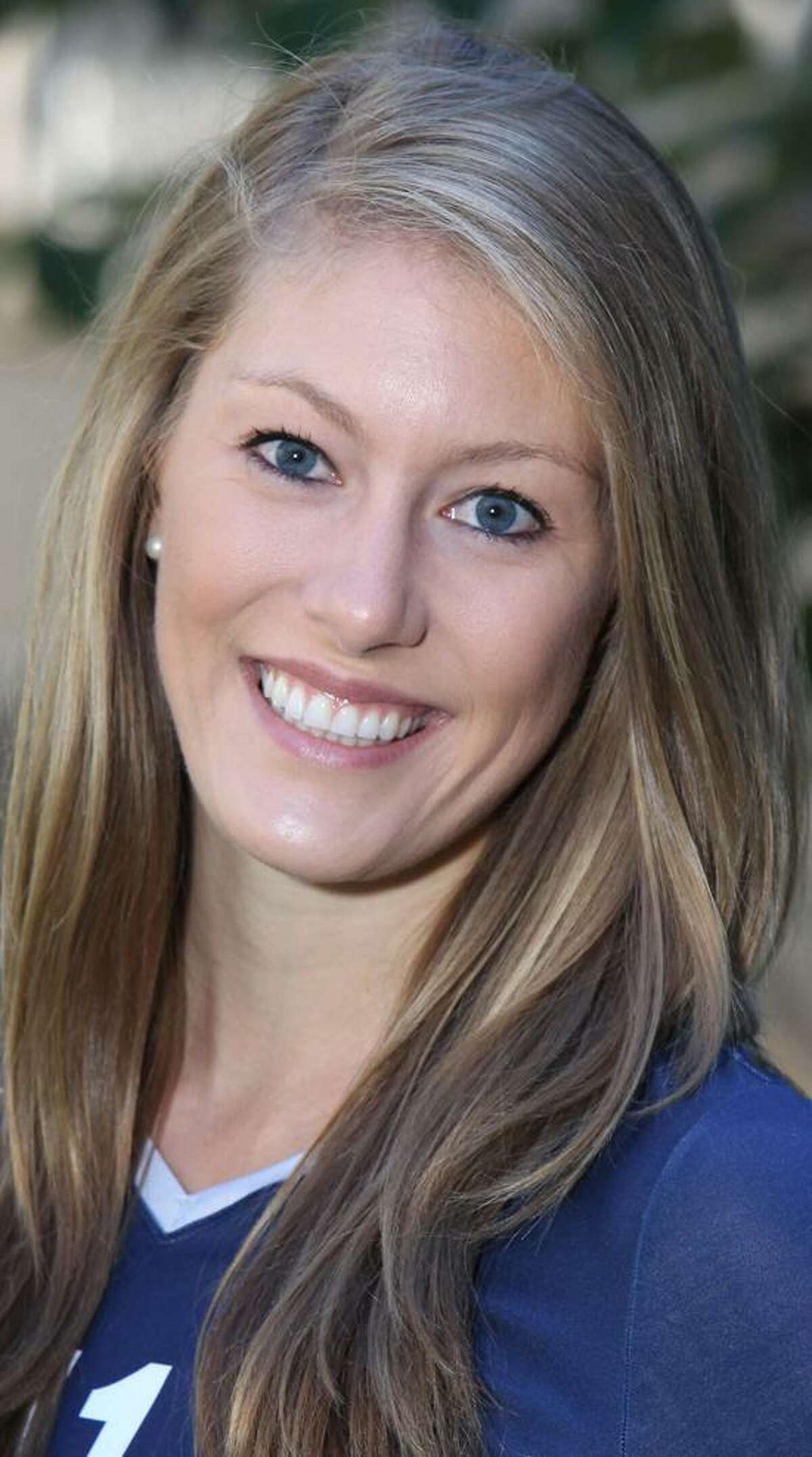 Yale volleyball player Taylor Cramm. (Photo courtesy of Yale Athletics)