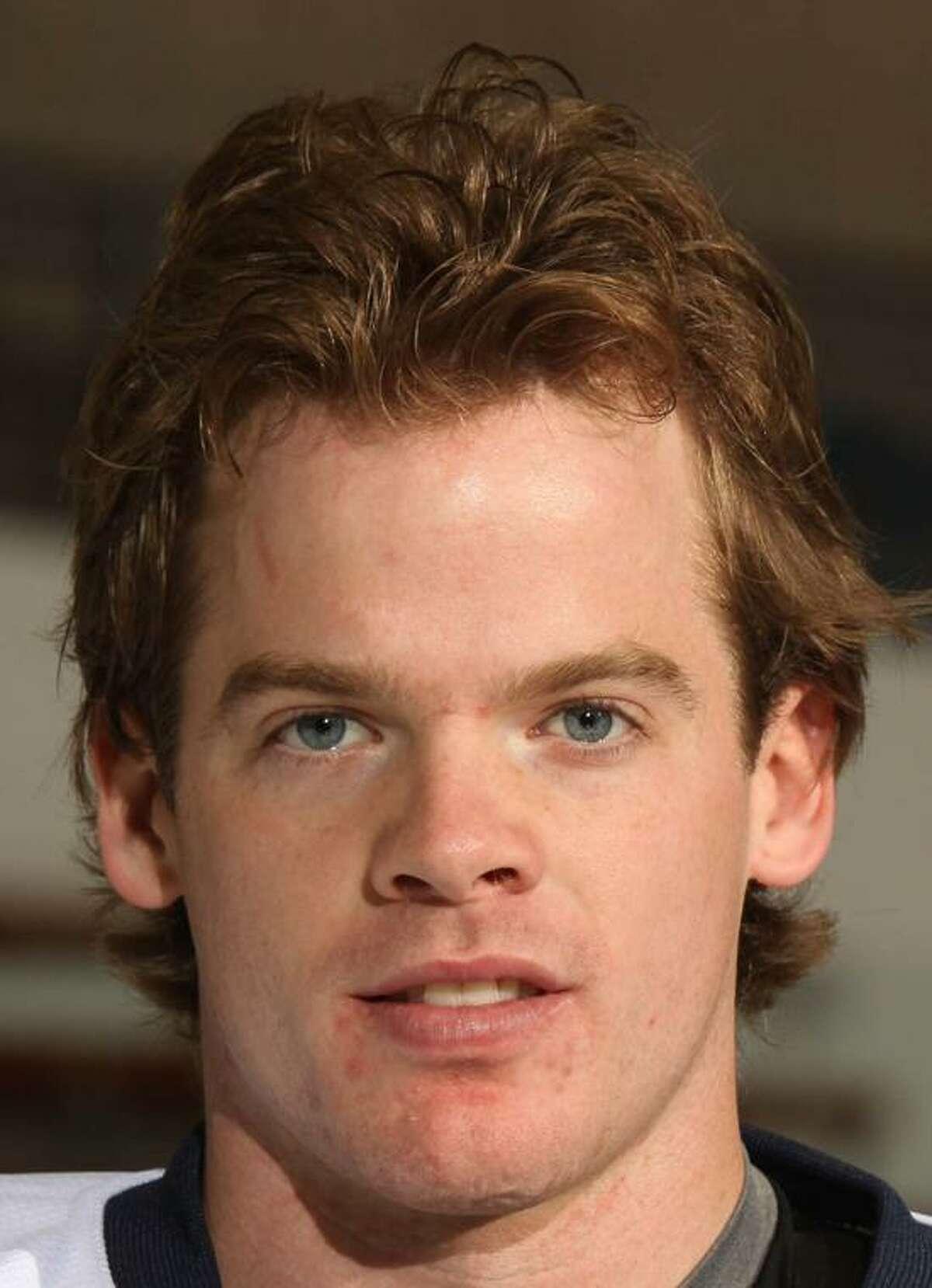 Yale hockey player Brian O'Neill. (Photo courtesy of Yale Athletics)