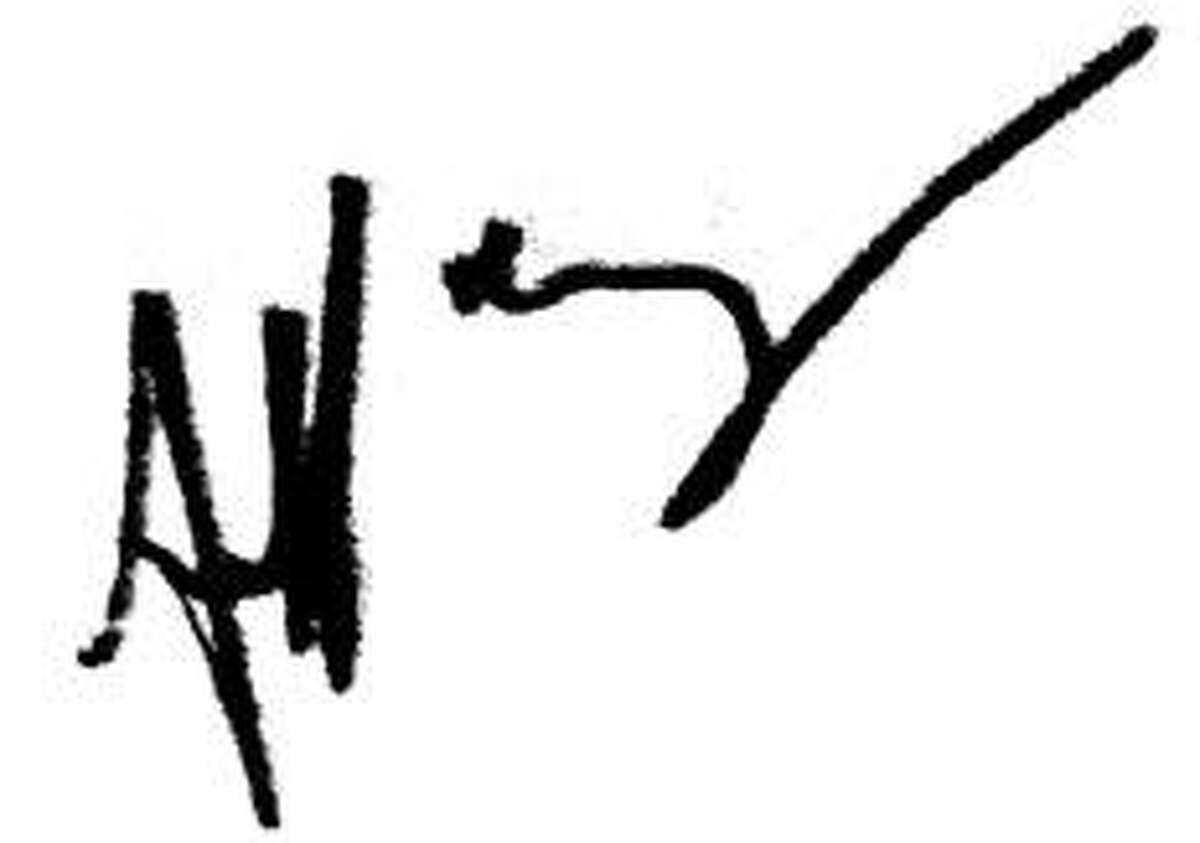 Jeff Leahey's real signature