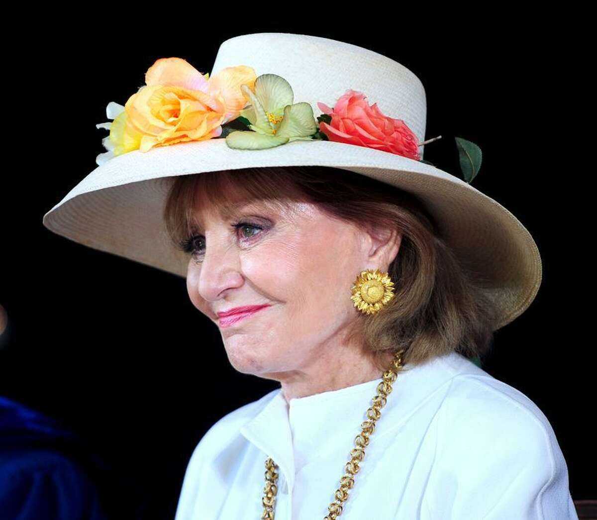 Barbara Walters was the Class Day speaker at Yale University in New Haven. Arnold Gold/New Haven Register