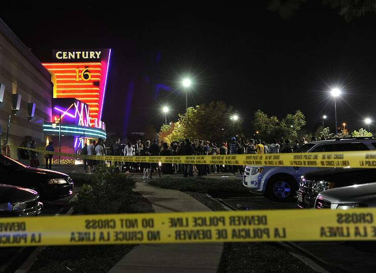 Police tape marks the scene.