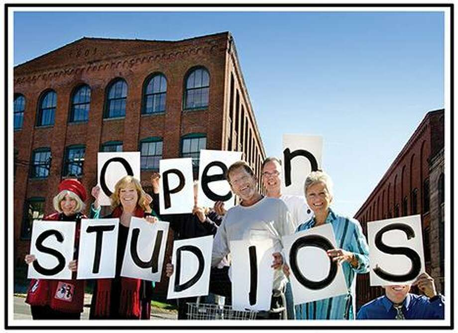 The artists at Whiting Mills studios in Winsted are preparing for their open studios events on June 2-3.
