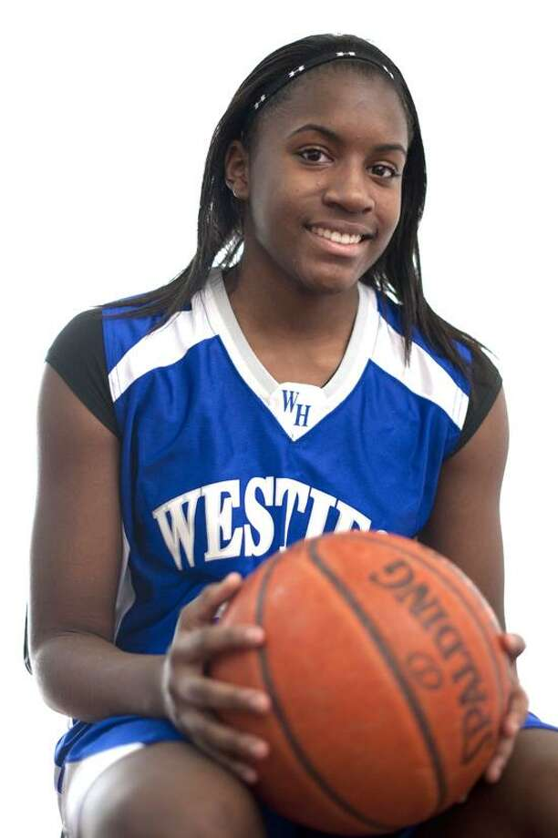 Female Athlete of Week: Jayva Johnson, West Haven, basketball. Photo by vmWilliams