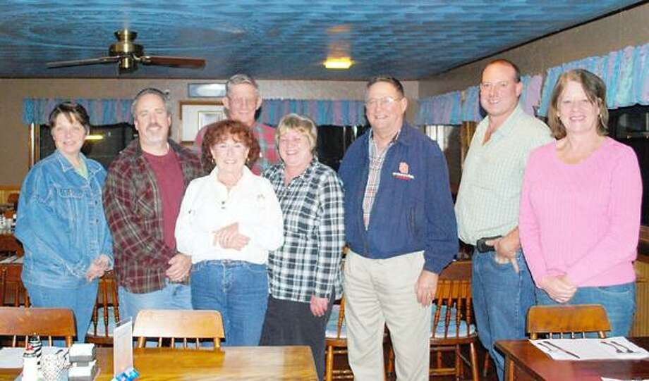 Photo Courtesy VERONA BEACH LIGHTHOUSE ASSOCIATION From left, Eileen Edsell, Robert Sullivan, Teri Knight, Richard Parker, Lois George, Leo Bitz, Steve Scribner, and Laurie Rudnick. Not pictured, Dave Bigsby.
