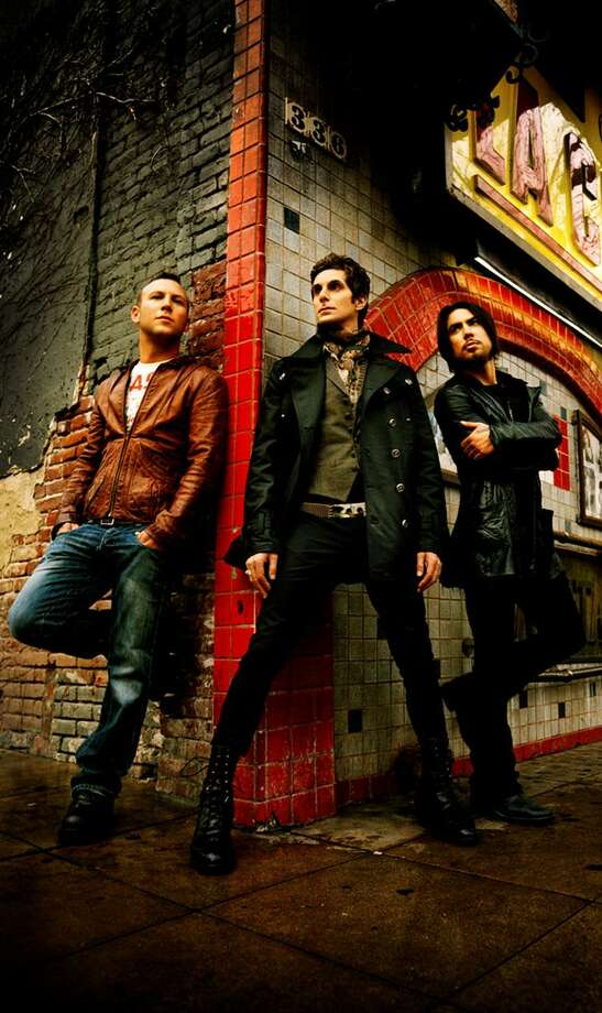 Submitted photo From left, Jane's Addiction drummer Stephen Perkins, vocalist Perry Farrell and guitarist Dave Navarro will make a rare Connecticut appearance in March at the Palace Theater in Waterbury.
