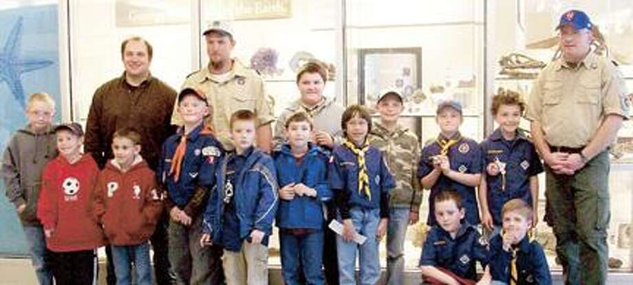 Submitted Photo Cub Scouts from Munnsville Pack 7 and J. D. George Elementary Pack 25 at the Robert H.N. Ho Science Center at Colgate University in Hamilton.