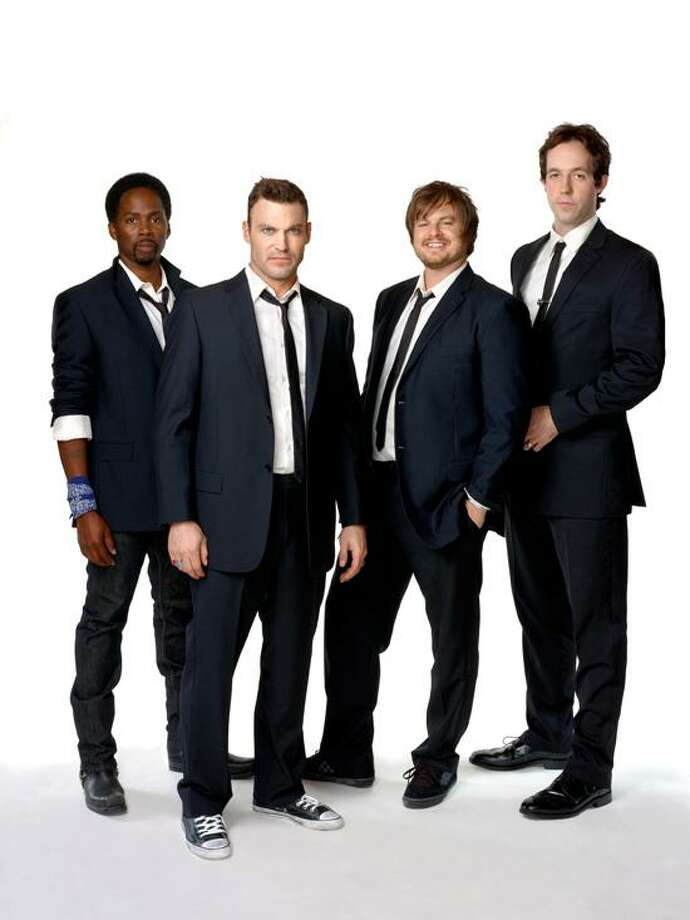 "Jeremy Freeman/TBS: TBS engages a quirky ""Wedding Band"" to fill its 10 p.m. Saturday time slot."
