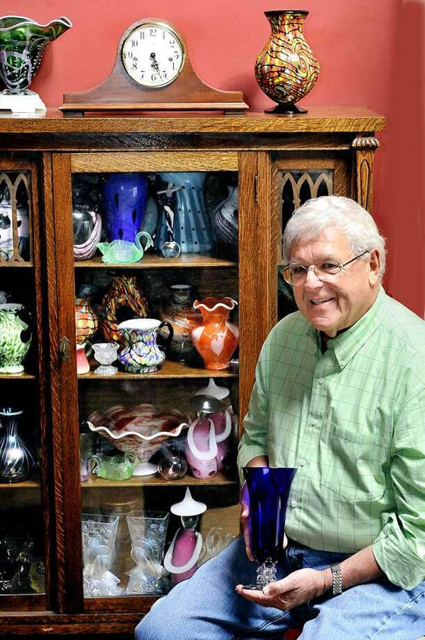 Contributed photo: John Newman, who specializes in American-made glass and lamps, will be among the team of appraisers for Chester Historical Society's antiques appraisal day Saturday.