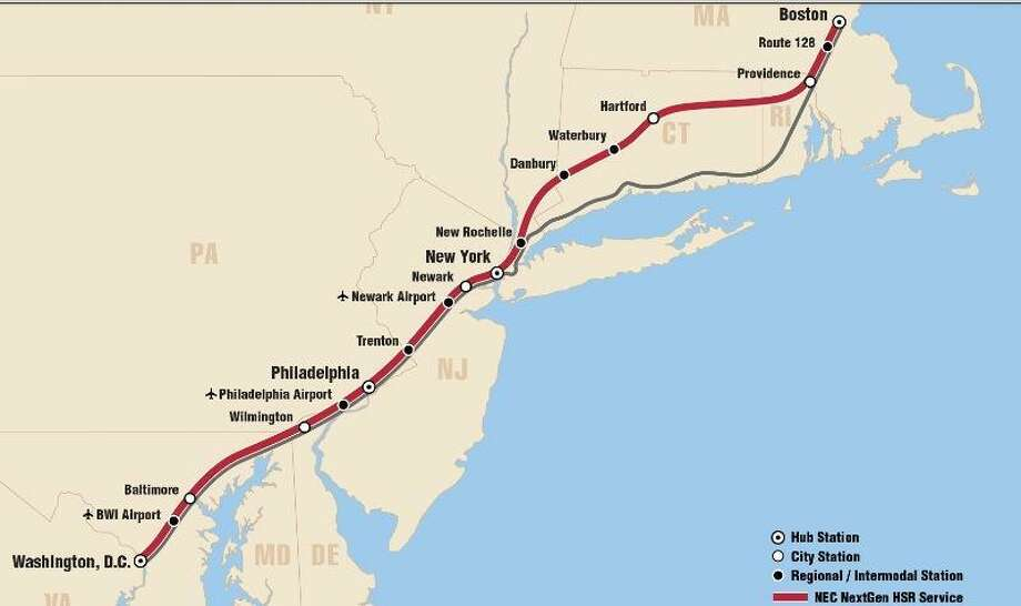 From the Amtrak Vision for the Northeast Corridor 2012 Update Report.