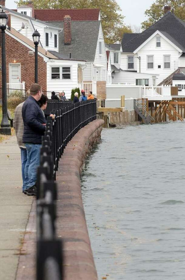 The Seawall at Morris Cove in New Haven. vm Williams/Register