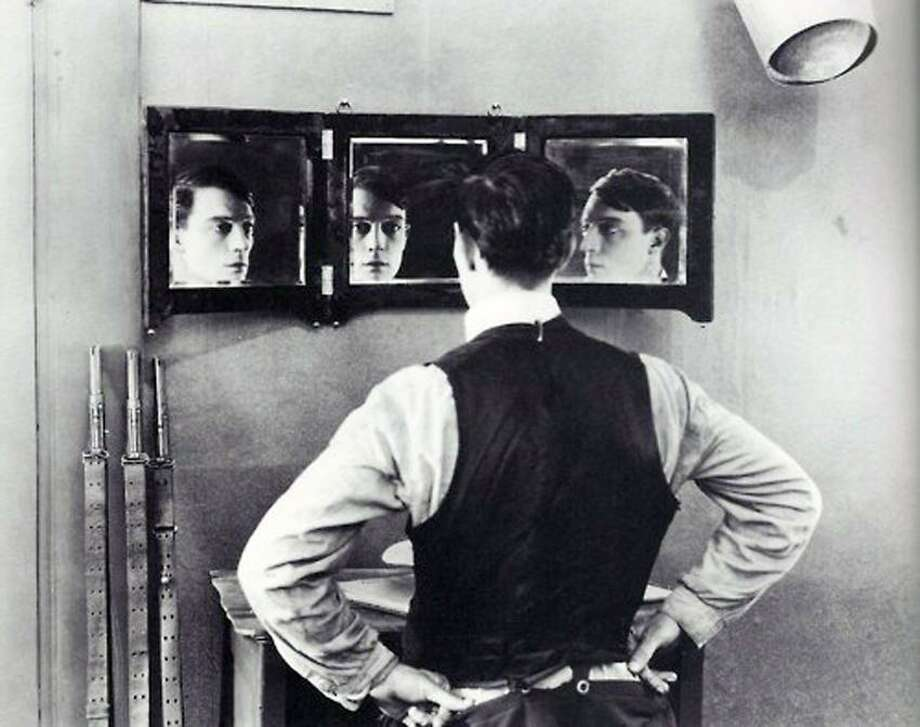"Contributed photo: Orchestra New England plays along with Buster Keaton's ""The Playhouse"" Saturday night."