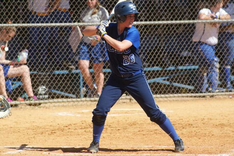Orange's Kate Hoffman has had a solid season for Southern Connecticut State after transferring from CCSU. (Photo courtesy of SCSU Athletics)