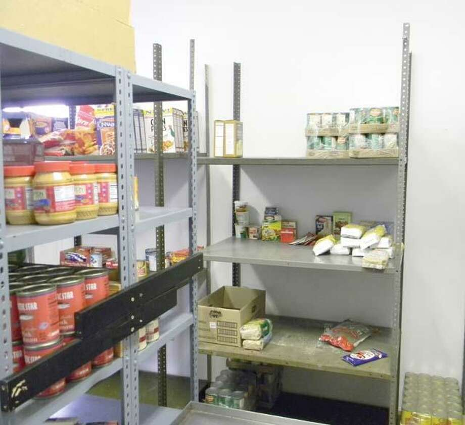 File photo The shelves of the Torrington Salvation Army's food pantry always need restocking; so do the ones at FISH and the Torrington Soup Kitchen.